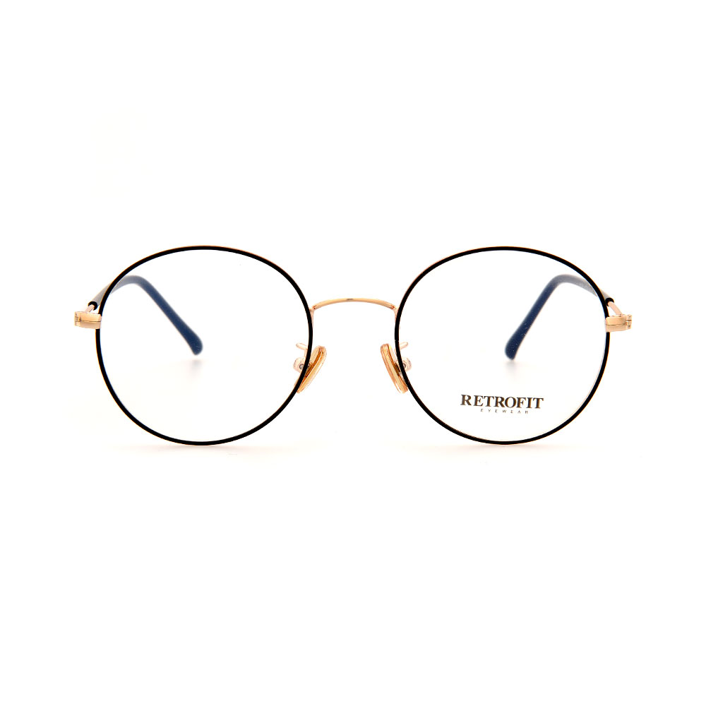 RETROFIT WFIH1041 C1 Slim Gold Eyeglasses