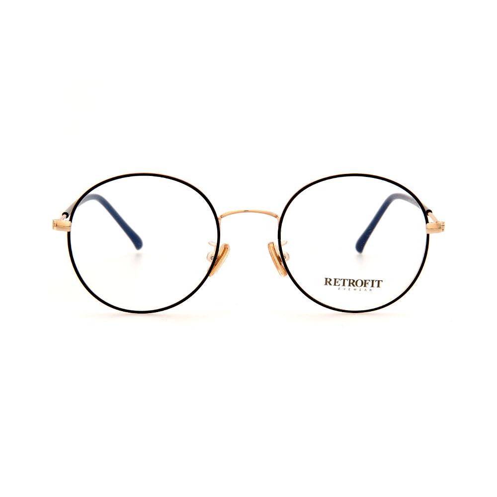 RETROFIT WFIH1041 C1 Slim Gold Eyeglasses