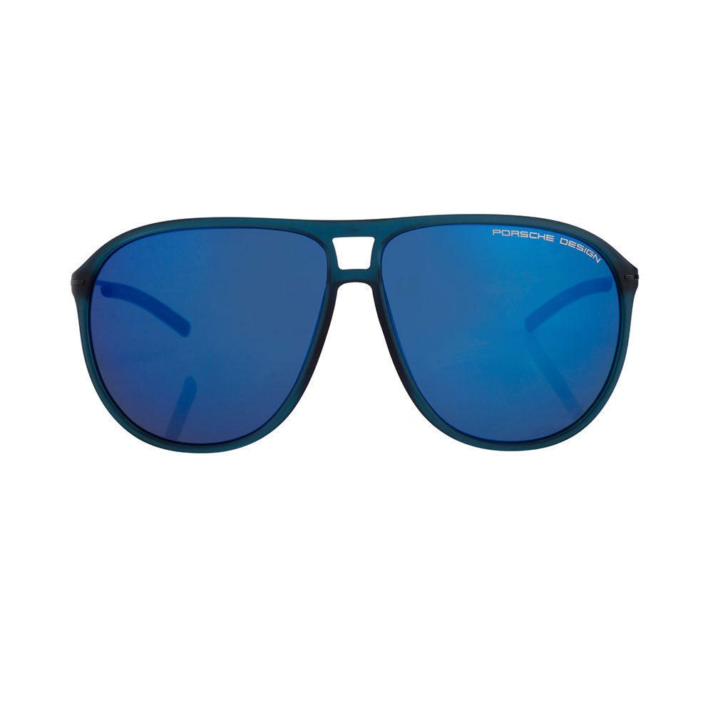 PORSCHE DESIGN 8635 D Aviator Blue Sunglasses