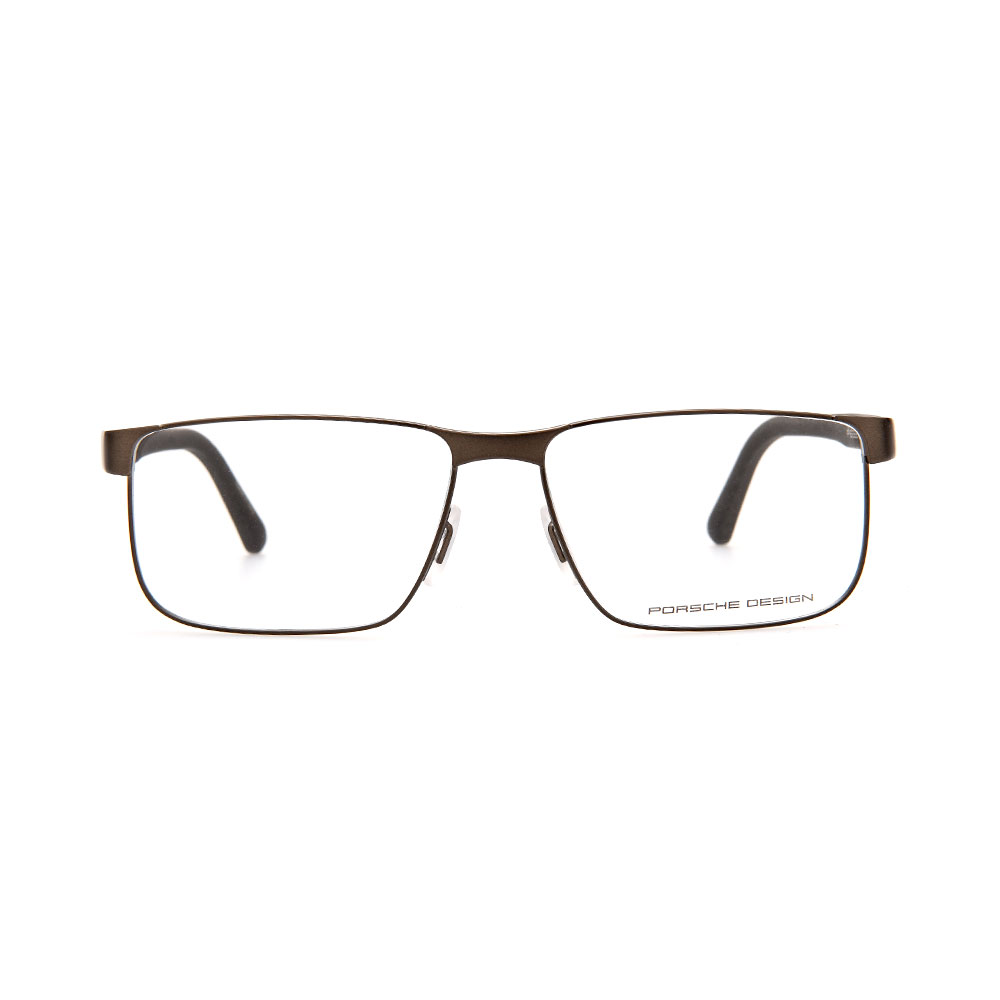 PORSCHE DESIGN Brown Rectangle 8222 C Eyeglasses
