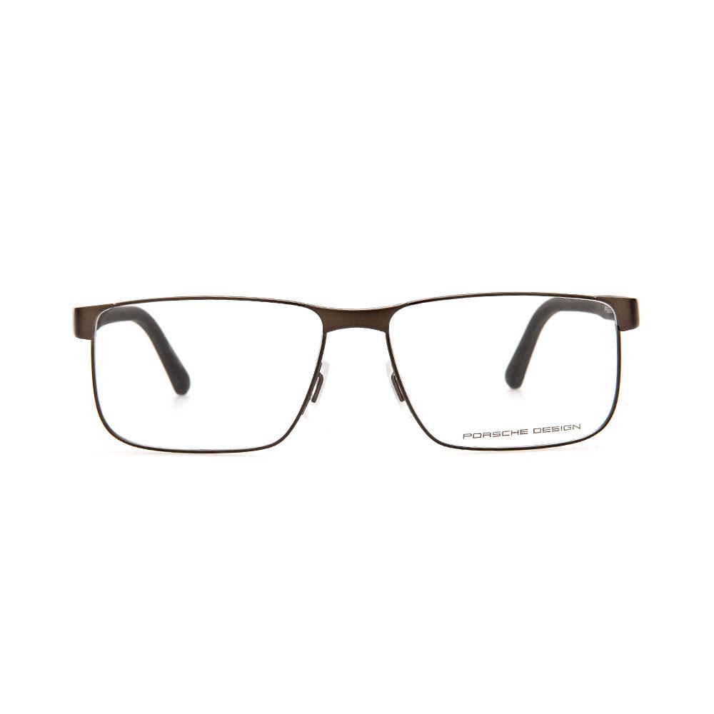 PORSCHE DESIGN Brown Rectangle 8222 C Eyeglasses