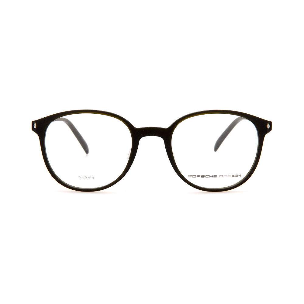 PORSCHE DESIGN Brown Round 8335 C Eyeglasses
