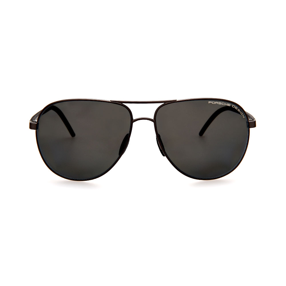 PORSCHE DESIGN Black Aviator 8651 D Sunglasses