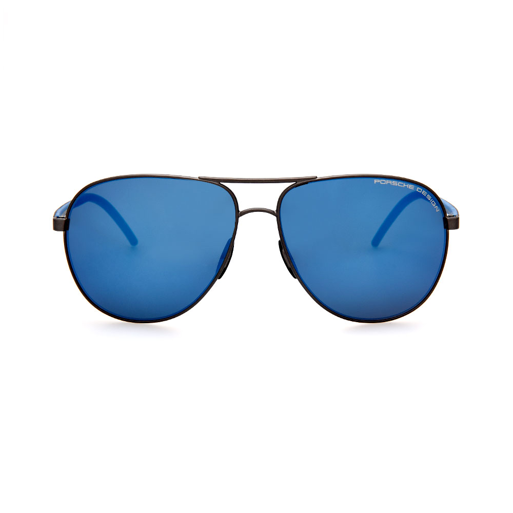 PORSCHE DESIGN Blue Aviator 8651 E Sunglasses