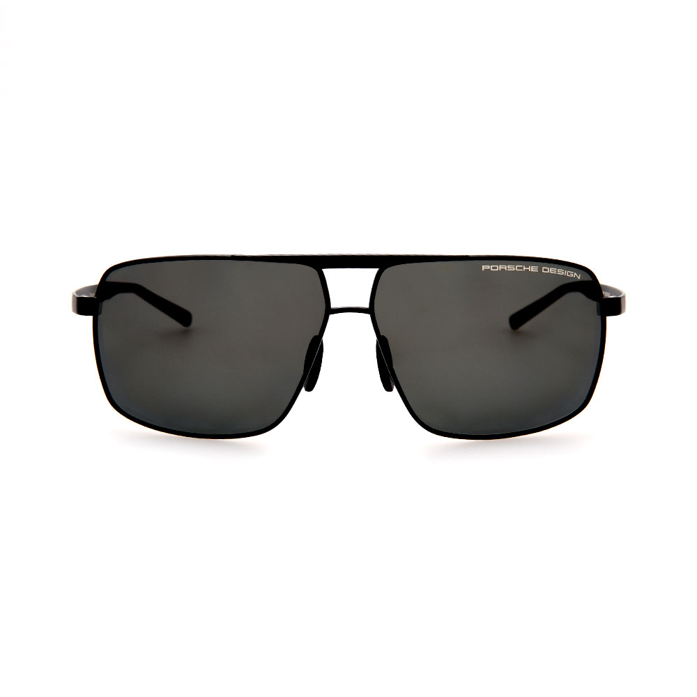 PORSCHE DESIGN Black Aviator 8658 A Sunglasses