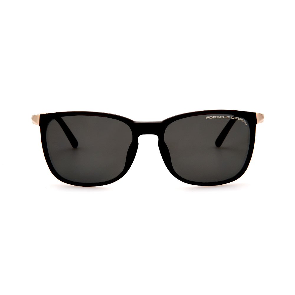 PORSCHE DESIGN Black/Gold 8673 B Sunglasses