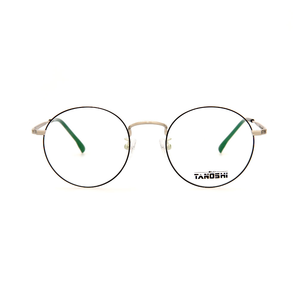 TANOSHI DE16328 C03 Round Eyeglasses