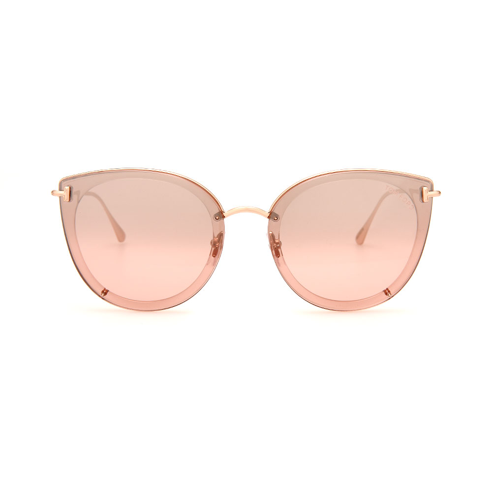 TOM FORD Cat-Eye FT0720K 33G Pink Sunglasses