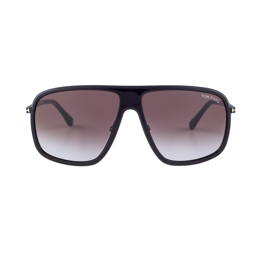 TOM FORD Quentin Square Black TF463 01B Sunglasses
