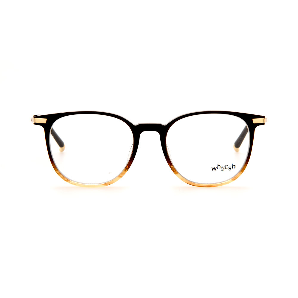 WHOOSH Vintage Series Gradient Brown Oval TT4205 C2 Eyeglasses