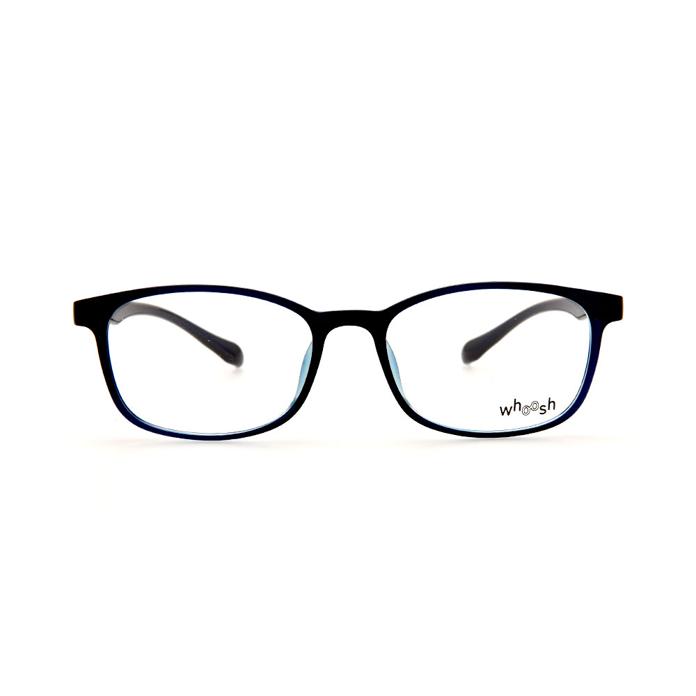 WHOOSH Black/Blue Square BR2168 C4 Eyeglasses