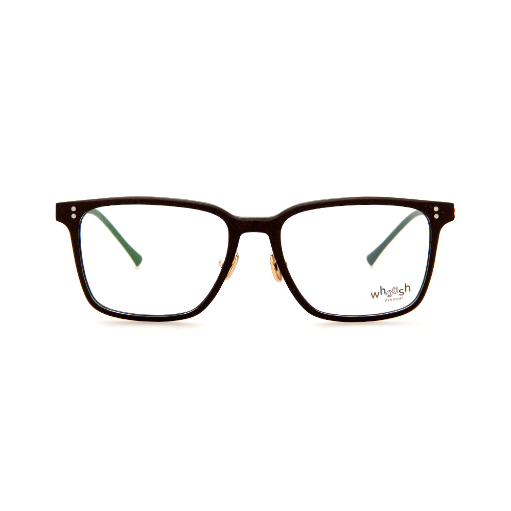 WHOOSH Urban Series Black/Orange Square WFIH1003 C2 Eyeglasses