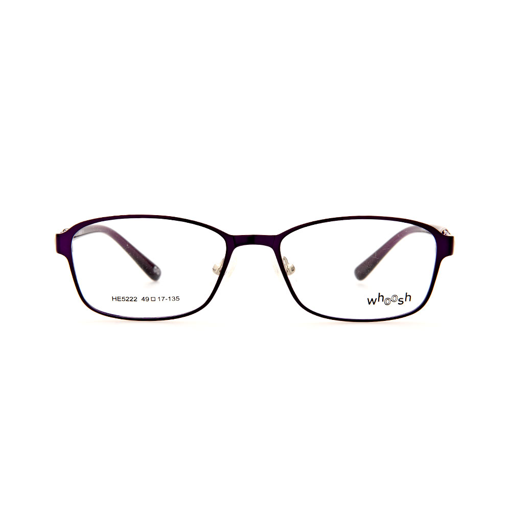 WHOOSH Urban Series Purple Oval HE5222 C2 Eyeglasses
