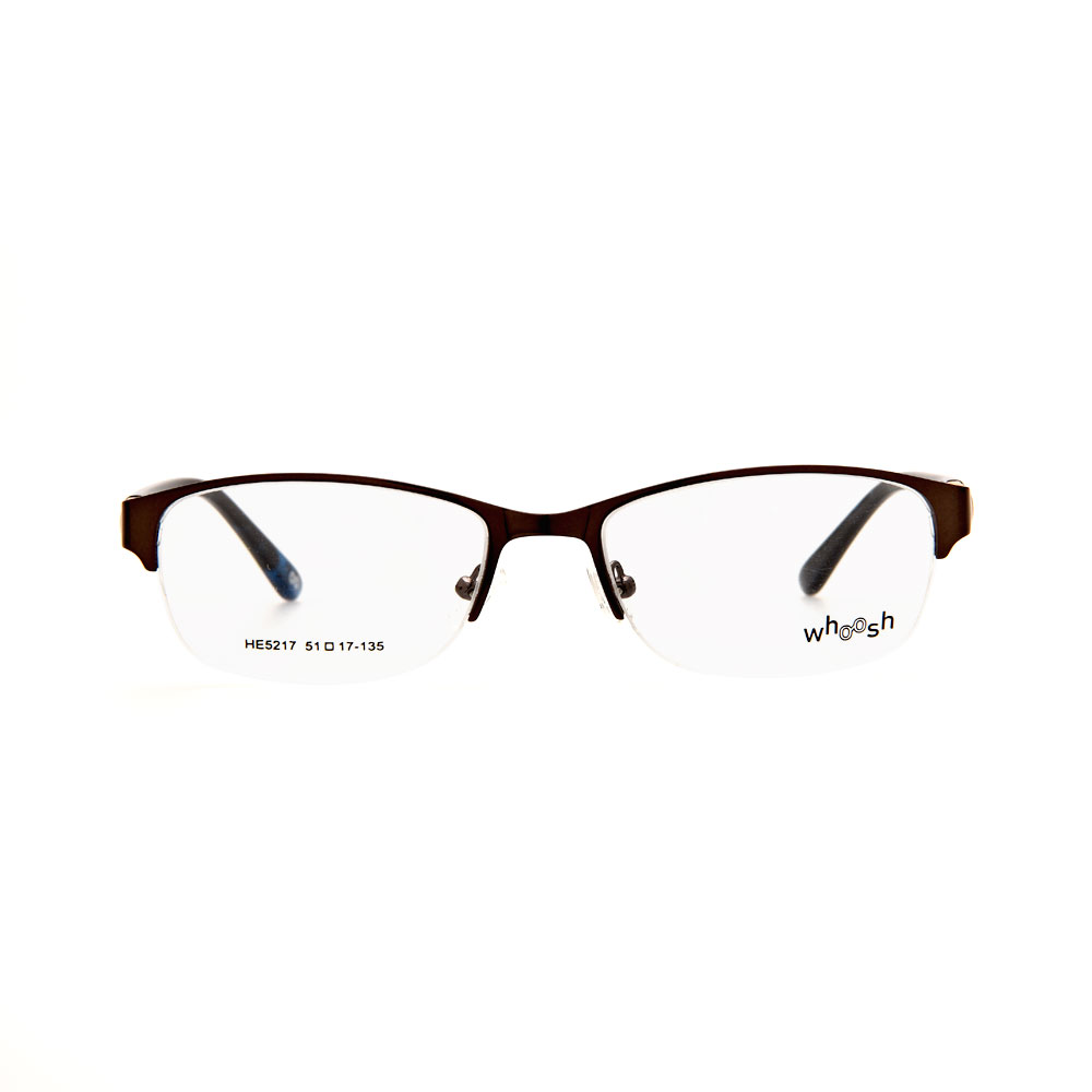 WHOOSH Urban Series Tortoise Blue Rectangle HE5217 C1 Eyeglasses