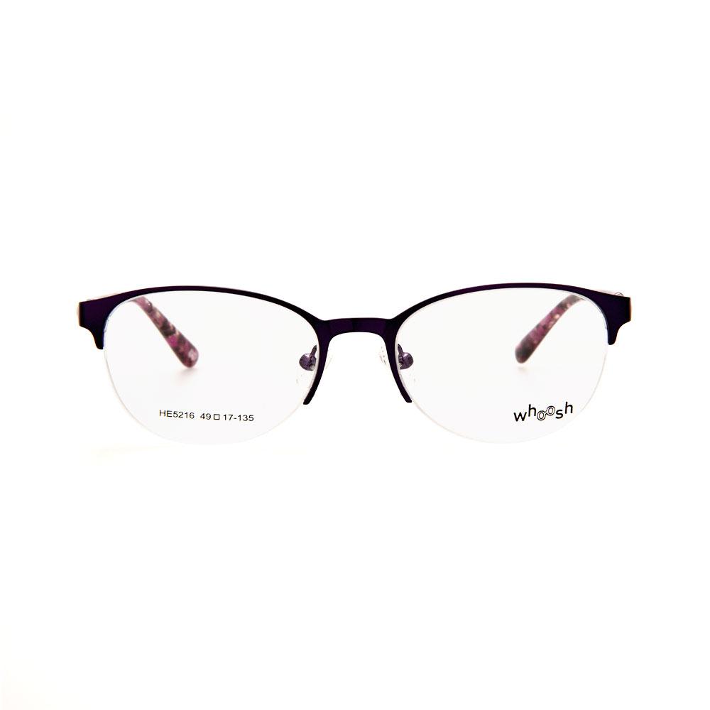 WHOOSH Urban Series Tortoise Purple Oval HE5216 C3 Eyeglasses