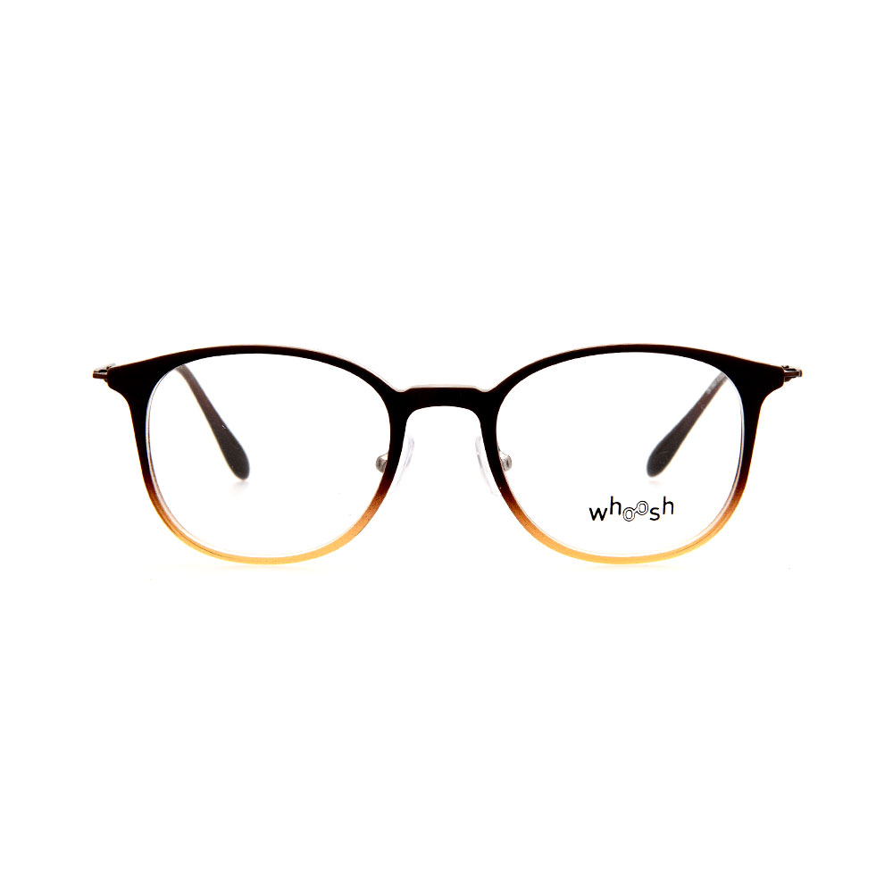 WHOOSH Trendy Series Oval Gradient Brown OK15905 C1 Eyeglasses