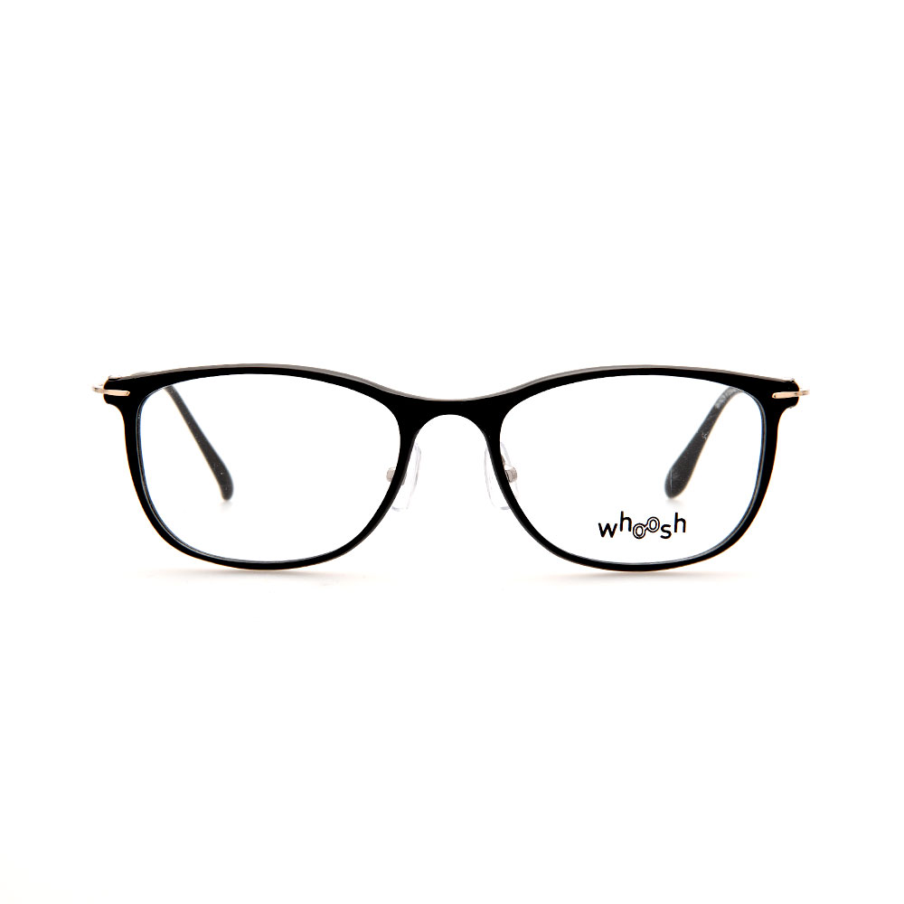 WHOOSH Vintage Series Rectangle Black OK16279 C1 Eyeglasses