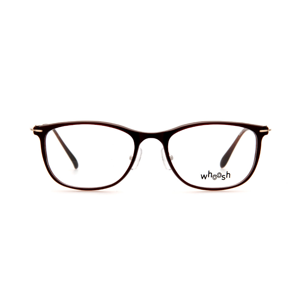 WHOOSH Vintage Series Brown Rectangle  OK16279 C3 Eyeglasses